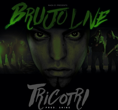 NODATE Brujo Live CD Cover Tricotri Take 2-1-1